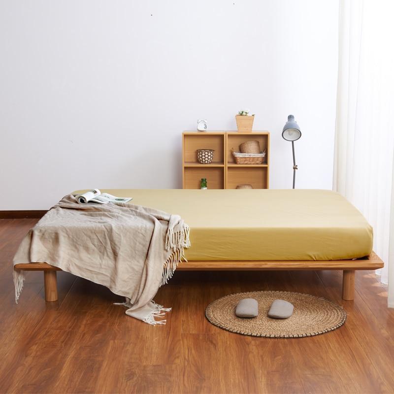 Bonenjoy, fundas de cama de Color dorado, microfibra, 1 ud., sábana ajustada, Sábana individual con sábana elástica para el hogar, juego de sábanas, Funda de colchón
