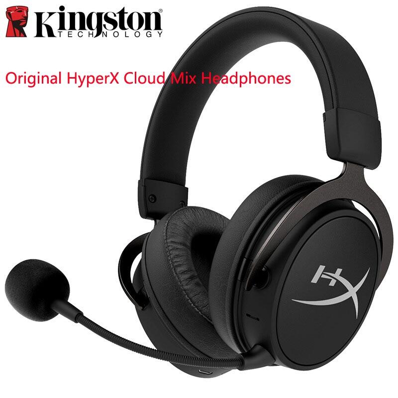 Auriculares originales Kingston HyperX Cloud Mix, auriculares inalámbricos Bluetooth de doble sonido para juegos para teléfonos móviles, ordenadores Xbox PS