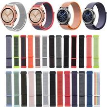 22 20mm bracelet pour Samsung Gear Sport S2 S3 classique frontière bracelet de montre galet temps acier Galaxy montre 42 46mm Huami Amazfit Bip