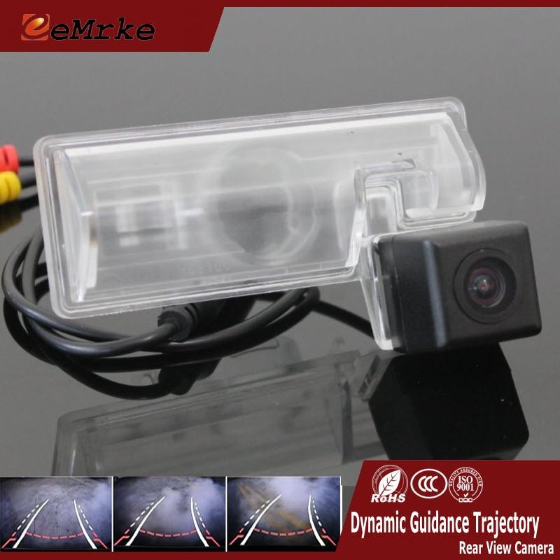 Автомобильная камера заднего вида EEMRKE CCD HD с треками траектория направления заднего хода для Maruti Suzuki SX4 Sedan