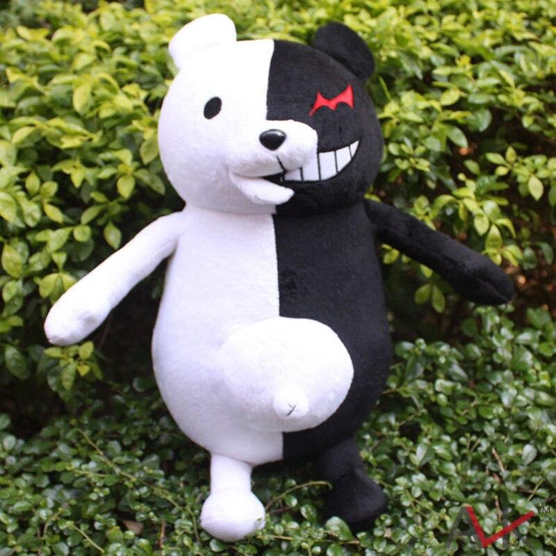 "Super Dangan Ronpa 2 Anime Cosplay 40Cm 16 ""Danganronpa Monokuma Black & White Bear Pluche Pop Speelgoed Gratis verzending"
