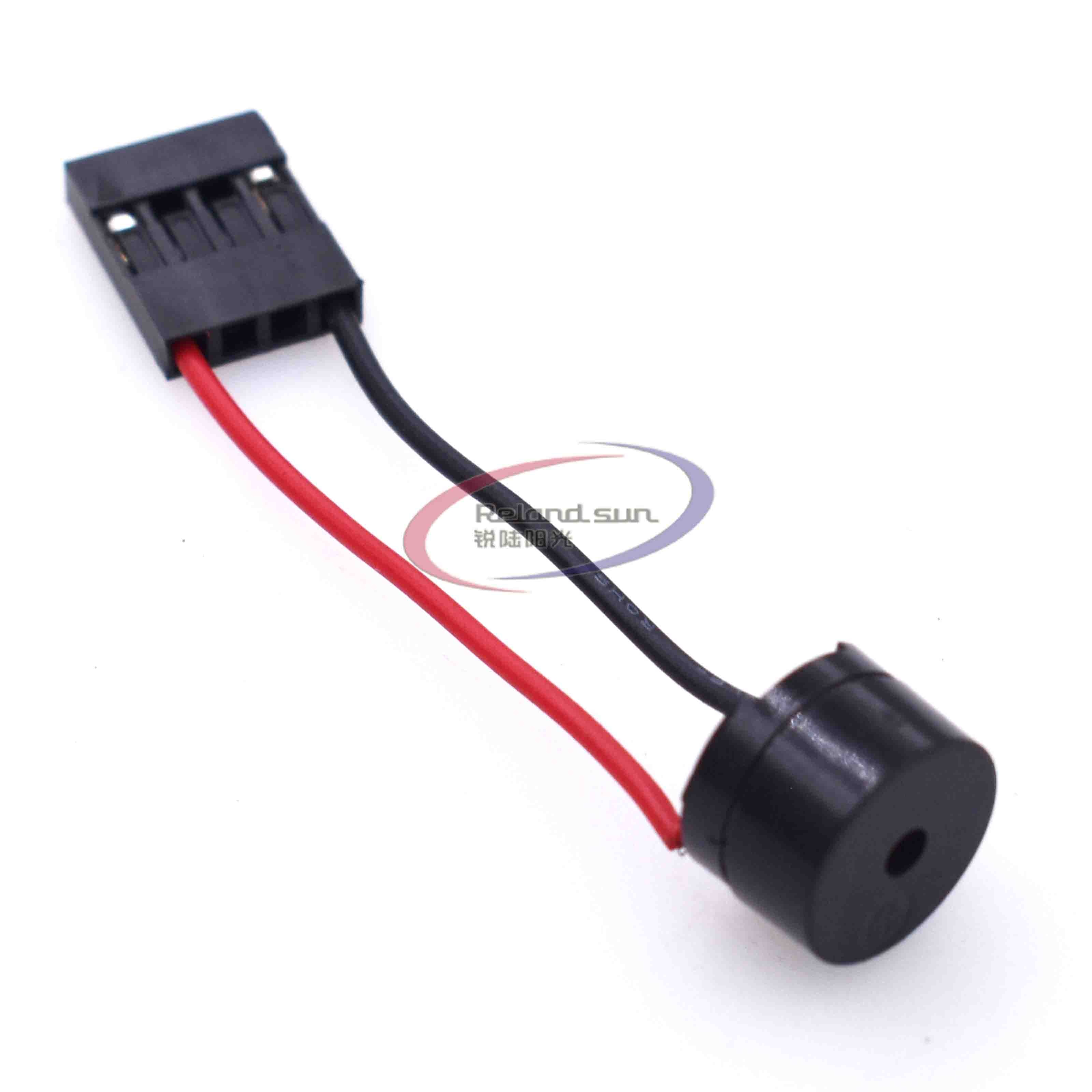 10 piezas Mini altavoz de enchufe para PC Interanal BIOS ordenador placa madre Mini caja a bordo zumbador Junta alarma bip