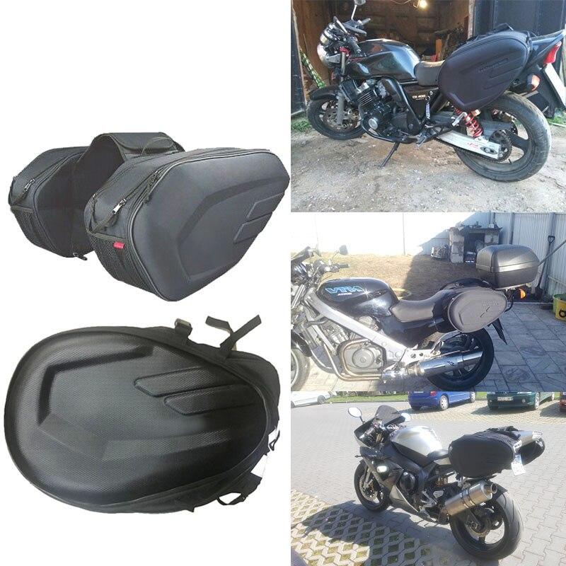 Impermeable de alta calidad trasero de motocicleta maleta de equipaje, Sa212 bolso de la motocicleta lado casco en bolsas de viaje con cubierta de la lluvia