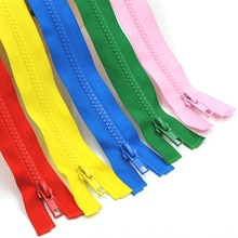 5pcs/lot 40-70cm long resin Open-End zipper for sewing coat down jacket coat children's zipper DIY C