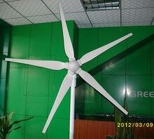 MAYLAR@ 15 Years Life Time 1000W  24V/48V Wind Generator,Dolphin,5pcs Blades,Wind Turbine, Start Wind Speed 3m/s