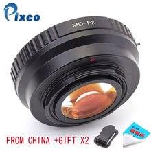 Pixco MD-FX reduktor ogniskowy wzmacniacz prędkości, garnitur dla Minolta MD obiektyw do aparatu Fujifilm X-A5 X-A20 X-A10 X-A3 X-A2