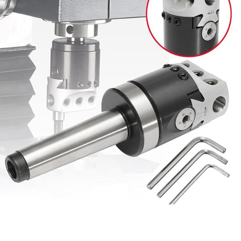 1 Набор 50 мм Mt4 универсальное использование расточной головки F1 с конусом Морзе хвостовик адаптер для токарного станка фрезерный инструмент