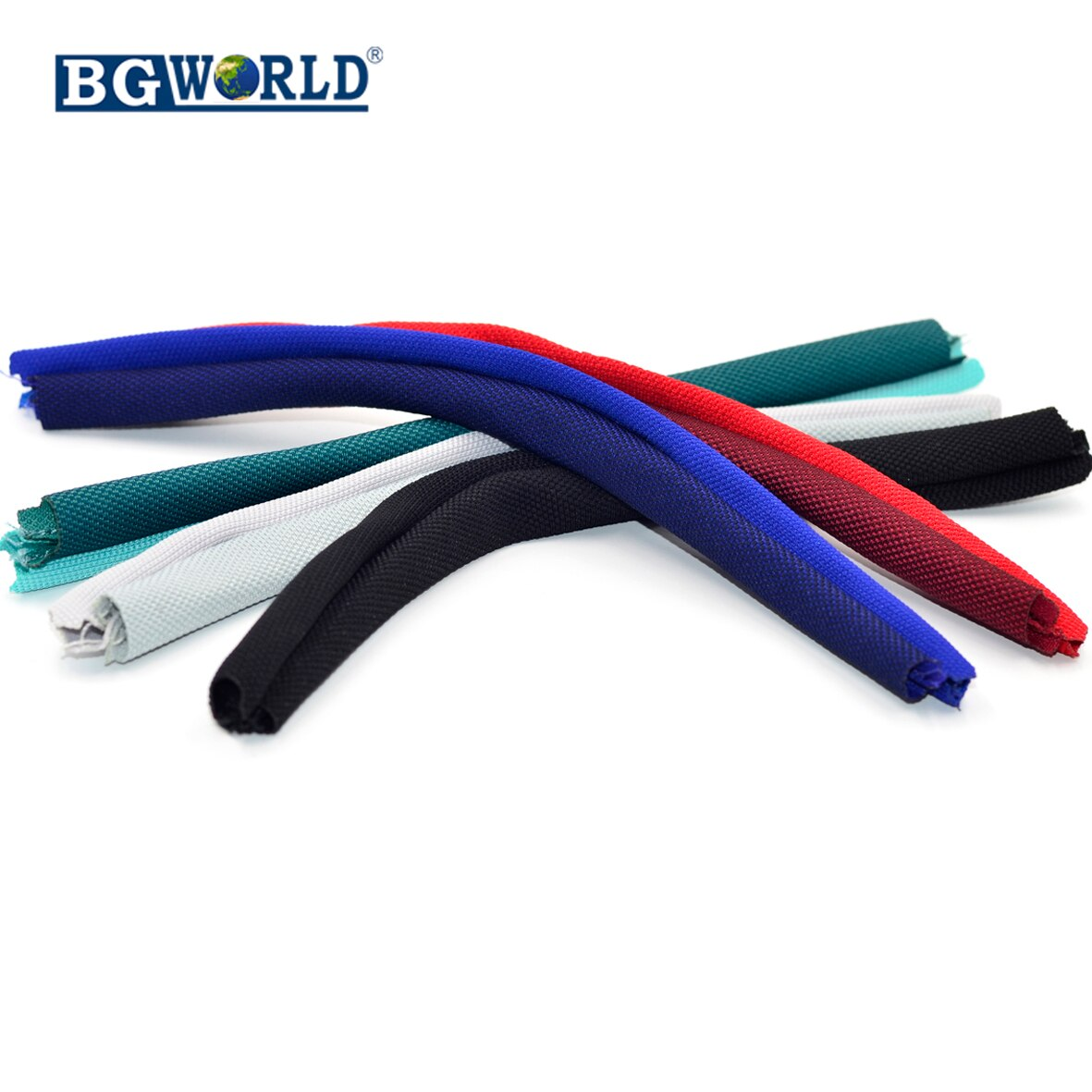 Piezas de Repuesto de cinta para cabello de tela BGWORLD 5 color para JBL E55BT E 55 bt auriculares inalámbricos Bluetooth