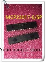 10 قطعة/الوحدة MCP23017-E/SP MCP23017 DIP-28 16 بت I/O المتوسع مع واجهة I2C IC جديد