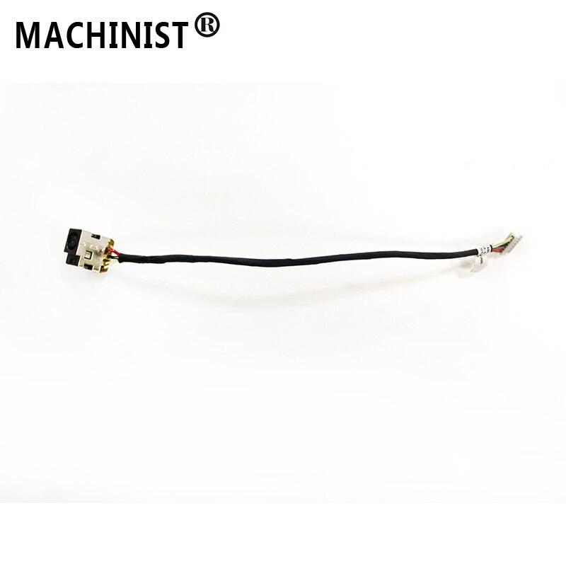 Prise Dalimentation CC avec câble Pour HP CQ43 G43 430 431 435 436 630 635 HM55 ordinateur portable Connecteur Port Prise fil De Remplacement