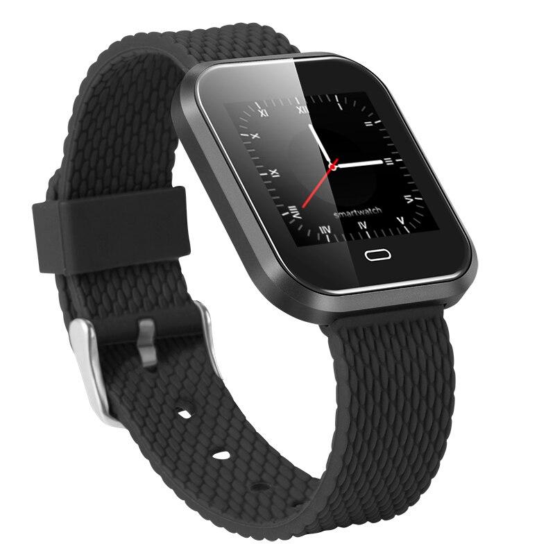 """Los hombres smartwatch CD16 con corazón de rastreador de fitness de presión arterial reloj multi-motion modo 1,3 """"HD pantalla a color PK Q9 mi band3"""