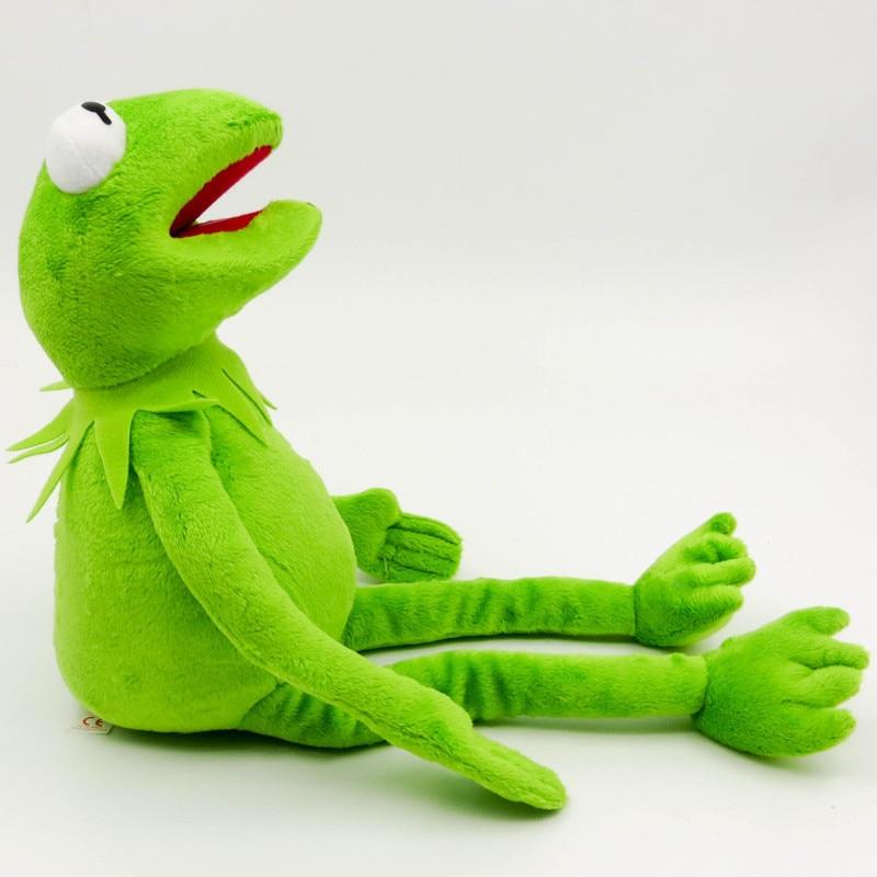 1 unidad 40cm Gustavo juguetes de peluche sésamo Street Peluche de ranas de peluche de juguete de rana Gustavo Envío Directo regalos de vacaciones para niños