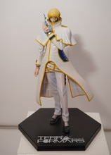 SEGA Terra Formars  Adolf Reinhard Action Figure Anime Original  1/7 scale figure Adolf Reinhard Doll PVC ACGN figure Anime 19CM