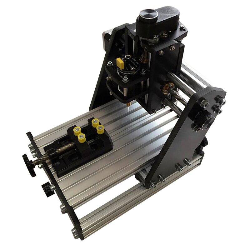 500mw laser EleksMill new 3-axis CNC Dual purpose Micro Mini Desktop CNC engraving machine laser engraving machine DIY kit