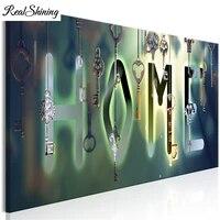 Peinture diamant pour enfants  broderie magique  touches de maison  bricolage  points de croix  puzzle 5d  art mosaique FS3042