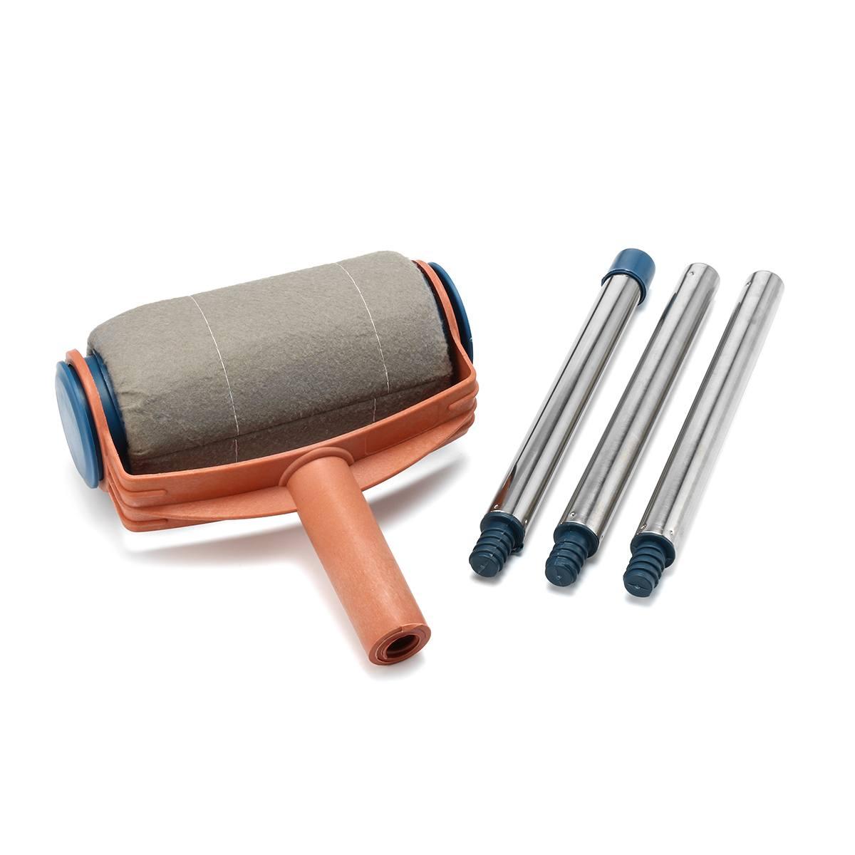 Cepillo de pintura decorativo multifuncional para pared de uso doméstico DIY rodillo de pintura inteligente fácil decoración del hogar herramientas de pared piezas