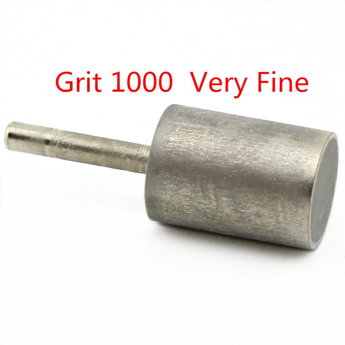 16-25mm Grit 1000 Zylinder Diamant Schleifen Kopf Zylindrischen Dreh Bits Jade ILOVETOOL