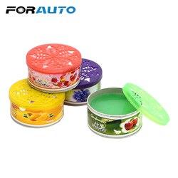 Forauto 70g purificadores de ar do carro flor fruta sólida fragrância difusor decoração do carro auto ornamento decoração para casa interior