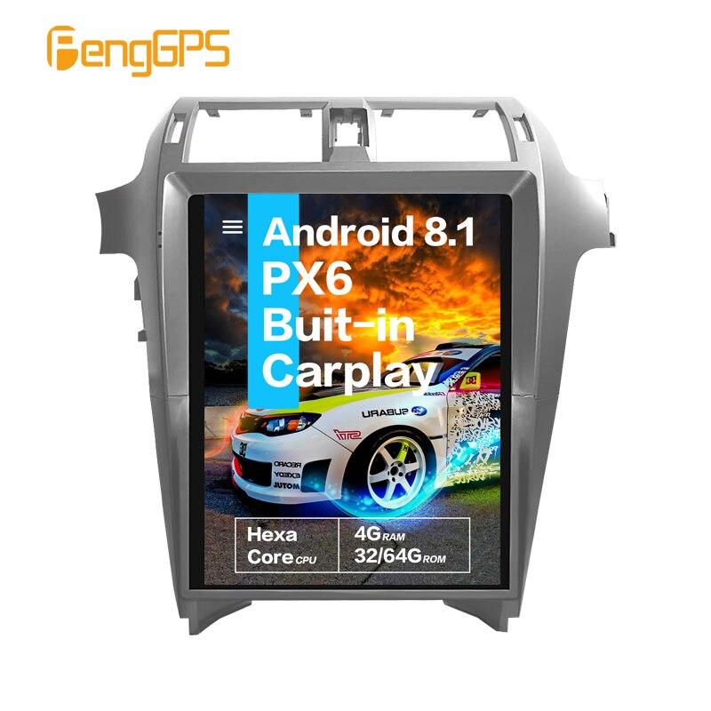 Car Multimedia Player For Lexus GX400 GX460 2010 2011 - 2019 Android px6 tesla Screen Stereo Audio radio autoradio GPS Head unit