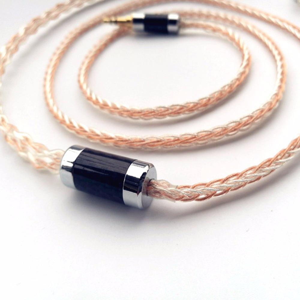 Free Shipping Haldane MMCX 0.78mm 2 pin IM04 IE80 A2DC MMCX HD650 ER4B S P UE0.75mm Headphone Earphone Headset Cable enlarge