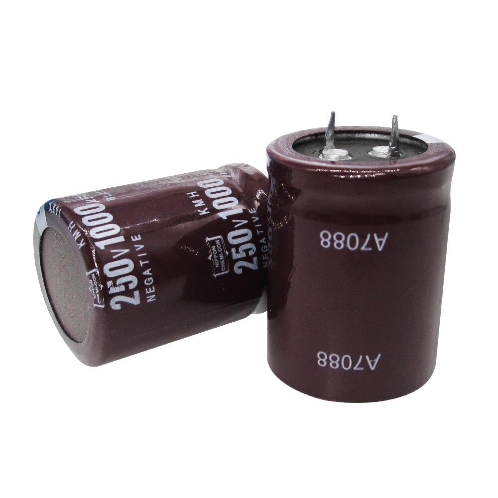 10 unids/lote condensadores electrolíticos 250V 1000UF volumen 30*40mm mejor precio y buen servicio