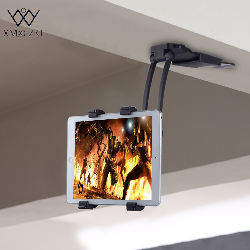 Soporte de montaje Universal para tableta XMXCZKJ, soporte de cocina para tableta Smartphone, 11-21 CM de ancho para Iphone Samsung Xiaomi