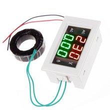 Voltmètre numérique ca 300-500V 50A ampèremètre de courant LED analyse voltmètre Instruments électriques