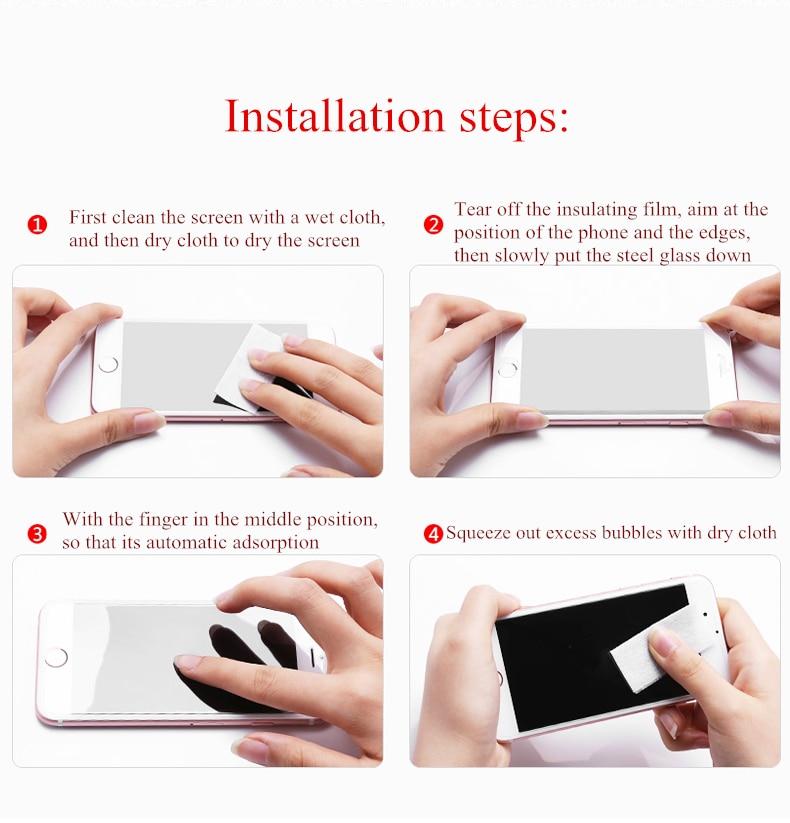 1 х сухая Чистящая бумага и влажная для закаленного стекла Наклейки телефонов   