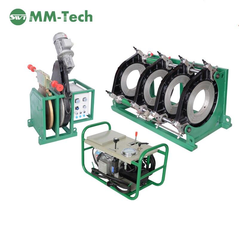 SWT-B450/200 H tubos de PEAD máquina de solda de fusão bumbum