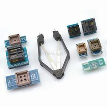 8 Programmer Adapters Sockets Kit with IC clip Extractor for TL866CS, TL866A, EZP2010 EZP2013 USB Bios Programmer PLCC SOP
