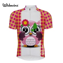 Kobieta sowa jazda na rowerze jersey lato odzież odzież rowerowa zespół włoski topy rowerowa fajna koszula różowa nowa droga maillot ciclismo 5836