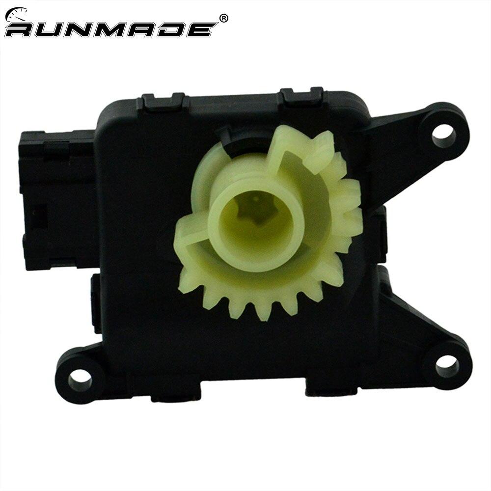 Runmade AC Aquecedor Ventilador de Recirculação de Aba Servo Motor 1KD907511B Para Audi A3/S3 TT VW Golf Jetta Coelho MK5 MK6 Skoda Assento