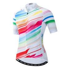 JPOJPO المرأة الدراجات جيرسي الدراجة فريق دراجة الدراجات الملابس أعلى جودة سباق الرياضة MTB دراجة جيرسي قميص الدراجات الملابس