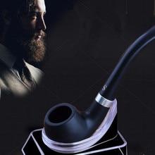 새로운 블랙 흡연 파이프 작은 내구성 흡연 담배 우아한 담배 파이프 시가 파이프 블랙 미니 파이프 freeshipping
