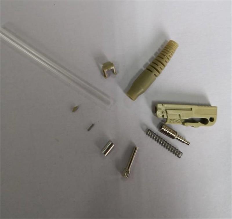 50pcs Free DHL LX5 fiber optic connector LX5/UPC LX5/APC SM MM optical fibre connector Unassembled Preassembled free shipping