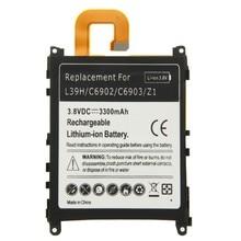 Литий-ионный аккумулятор для мобильных телефонов Sony Xperia Z1 L39H C6902 C6903, 3,8 В, 3300 мАч