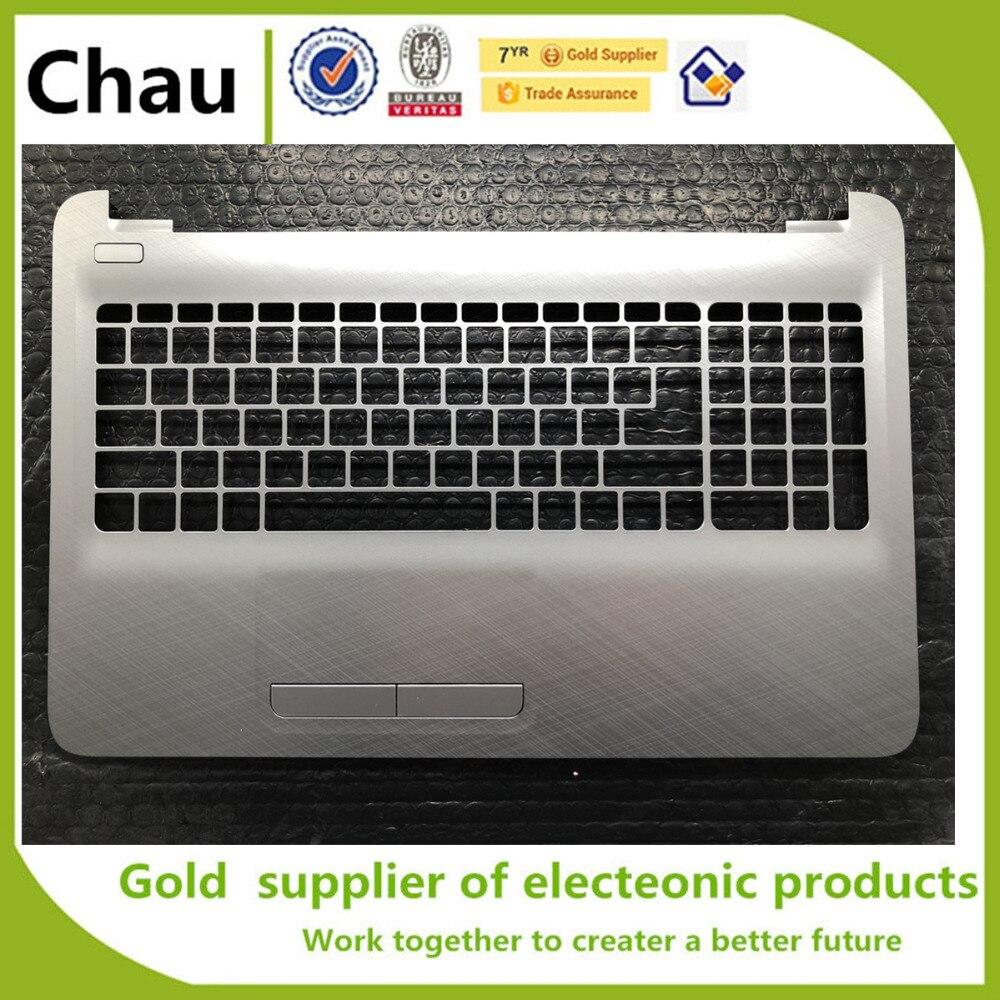 جديد ل HP 250 255 256 G5 G4 15-AC 15-AF العلوي حالة Palmrest الفضة AP1EM000330