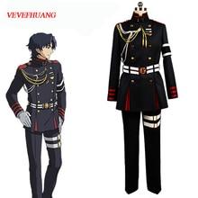 VEVEFHUANG Anime Seraph de la fin Owari no Serafu Guren Ichinose Cosplay Costume uniforme militaire tenue Halloween ensemble de vêtements