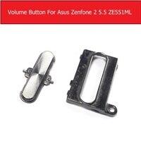 100% New Original Volume up down mute button For Asus zenfone 2 5.5 ZE550mL ZE551ml Z00ADB volume button replacement parts