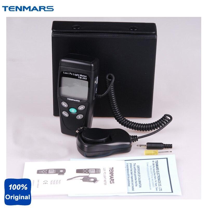 TM-202 ortable ضوء متر لوكس متر Luminometer
