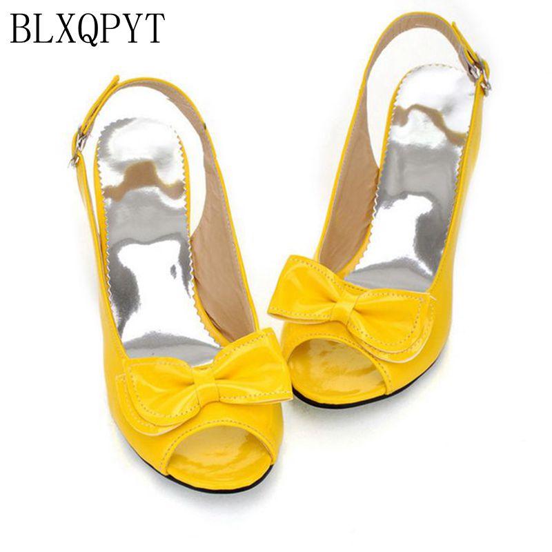 2018 nouveauté mode grande taille 34-46 dames chaussures Femme Zapatos Mujer Chaussure Femme escarpins Sapato Feminino Tacon Valentine 1-9
