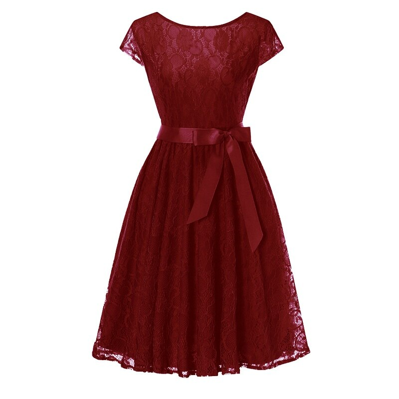 Mãe & filha vestidos adolescentes festa de formatura vestidos vestido de renda adolescente elegante senhora vestido de manga curta vestidos casuais de festa