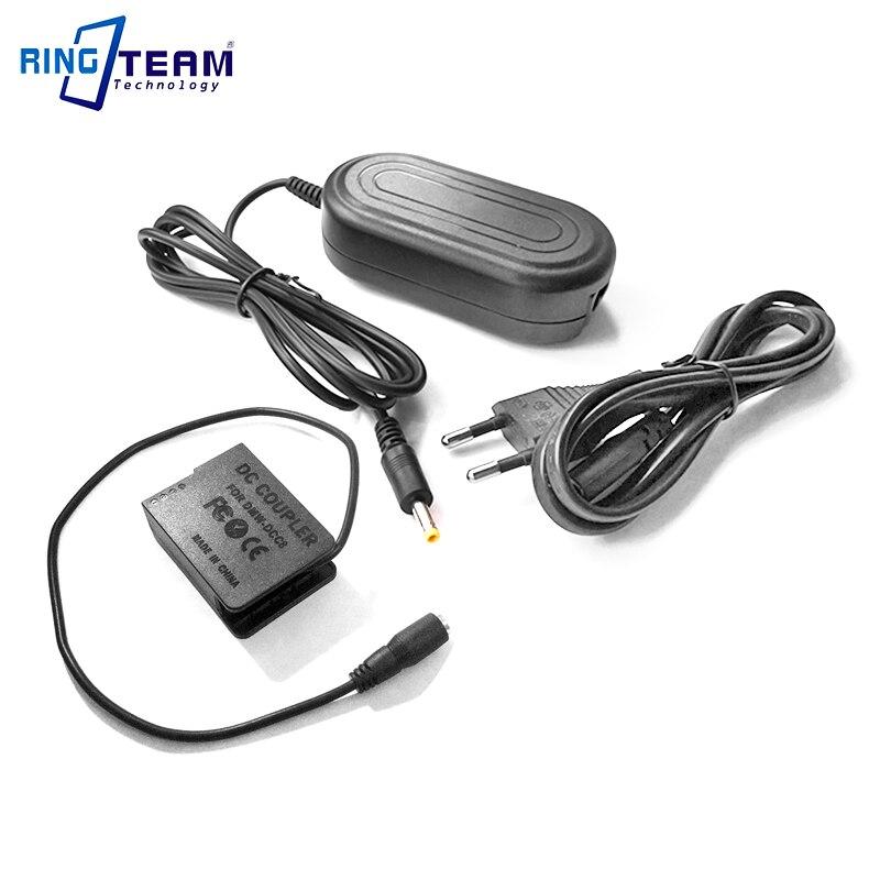 Power AC Adapter Kit DMW-AC8 + DMW-DCC8 (DMW-BLC12) for Panasonic Lumix GX8 FZ1000 FZ300 FZ200 G7 G6 G5 GH2 GH2S G80 G85 Cameras