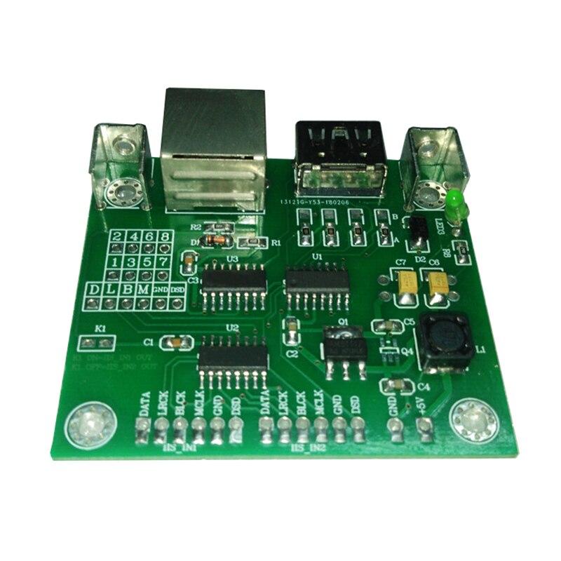 Señal 2way IIS (I2S) a HDMI y RJ45 IIS a HDMI I2S a placa de conversión de señal RJ45