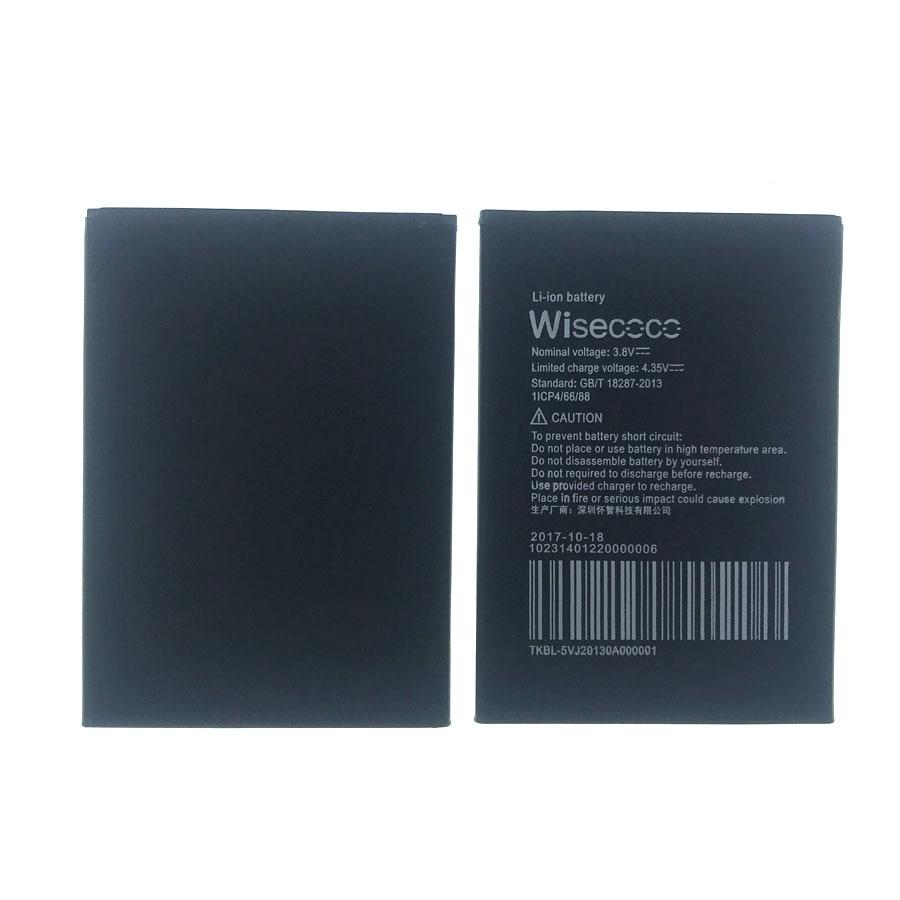 Batería de 3000mAh Wisecoco para BQS-5502 BQS 5502 HAMMER, accesorio de reparación de teléfono móvil + número de seguimiento