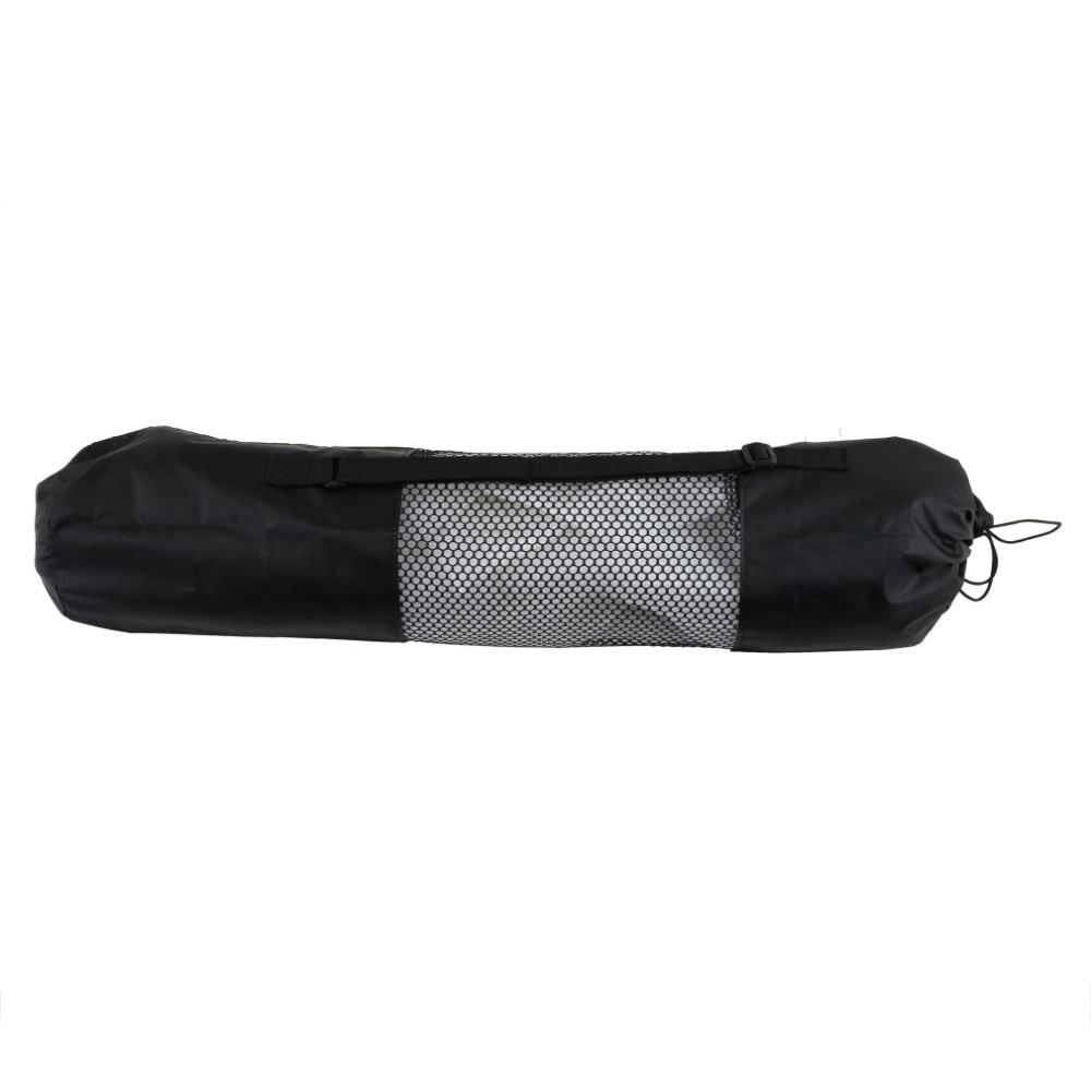 2016 torba mochila yoga popularne przenośne yoga mat beautity polyester nylon mesh czarny plecak dla zdrowia sport 5