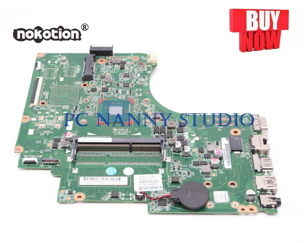 PCNANNY 747138-501 747138-001 لإتش بي 15-D HP 250 G2 255 اللوحة المحمول N3510 DDR3 اختبار