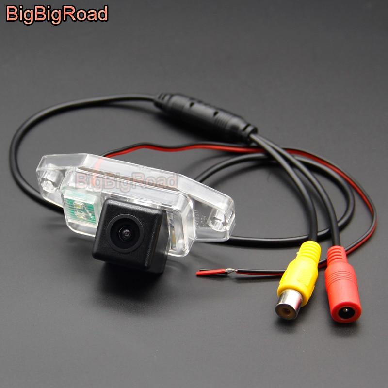 BigBigRoad Car Rear View Camera For TOYOTA Land Cruiser LC J 100 LC100 J100 1998 1999 2000 2001 2002 2003 2004 2005 2006 2007