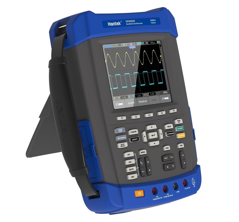 Hantek DSO8202E 6 en 1 osciloscopio Digital 2CH 200MHz 1GSa/s analizador lógico