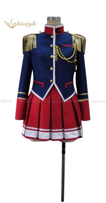 Moda kisstyle & Aeneas Romanze Shojo Kishi Monogatari Walroma Mio Kisaki uniforme ropa cosplay